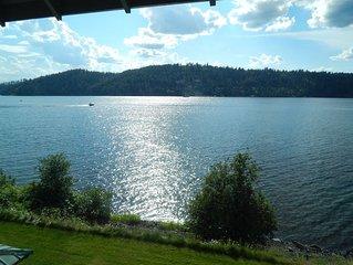 BUCOLIC BEAUTY - Waterfront Luxury Condo on Lake Coeur d'Alene