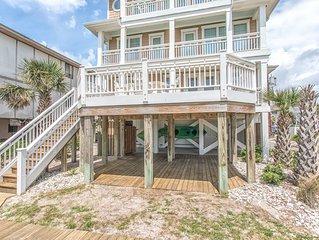 Luxury 6 Bedroom Oceanfront Home Wrightsville Beach