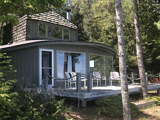 Unique Cabin with Private Beach on Lake Michigan