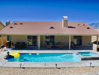 4BED/2BA SALTWATER POOL & SPA, MOUNTAIN VIEWS, PRIVATE, SPACIOUS, OUTDOOR LIVING