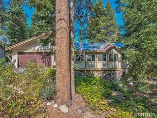 Family-friendly Charmer in South Lake Tahoe