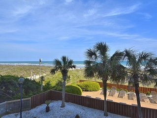 3 bedroom direct oceanfront condo, WIFI, swimming pool, motorcycle friendly