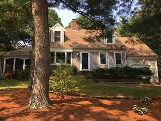 Quintessential Cape Cod Home- Short walk to beaches! New bathroom and porch