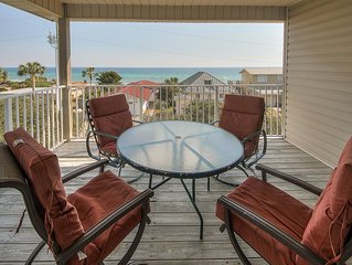 HMS SUNRISE & SUNSET Southside of 30A with Private Dedicated Beach Access