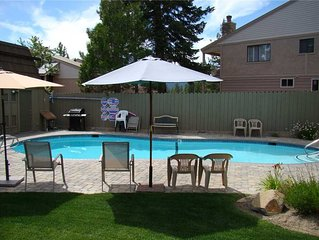 Tahoe Vista Condo Located Just Steps From the Beach!