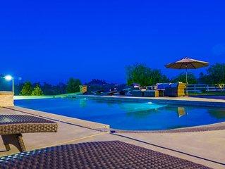Elegant Murrieta Mediterranean  Estate with Private Tennis Court