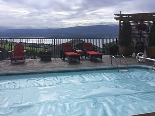 Beautiful Lakeview Suite-Overlook Okanagan Lake and Quails Gate Winery