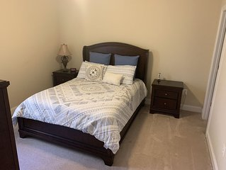 Cozy Bedroom with Spacious Private Basement