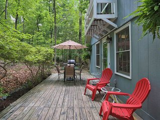 Charming Home Nestled in Forest Near Trails and Duke