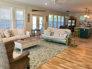 Gulf View, Close to Beach!  Chairs & wagon provided.