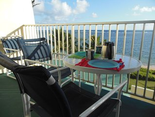 Beachfront, Spectacular View, Furnished, All Amenities,  Monthly Special $1800
