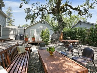Charming Farm House Downtown St. Helena.