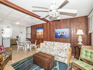 Quaint beach Suite ...on beachfront property.