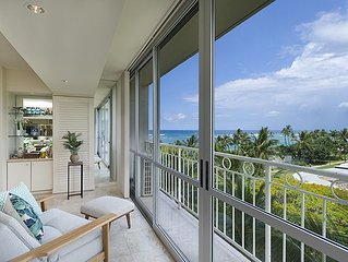 Oceanfront 1 Bedroom at the Waikiki Shore #616