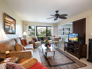 Maui New Account Savings! Right On The Beach, AC in bedroom *Hono Kai B9*