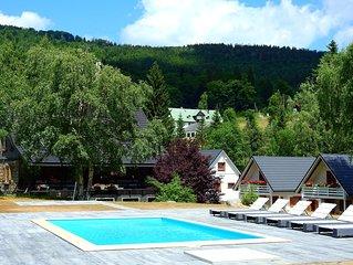 Ferienwohnung Haus am BACH in Szklarska Poreba mit Sauna, Rusische Banja