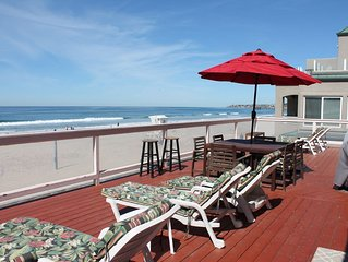 OCEANFRONT Property, beautiful views overlooking the beach. HUGE PRIVATE DECK!