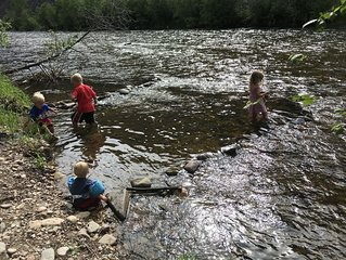 Fish, hike, hunt, float, and relax on private Rock Creek river access!