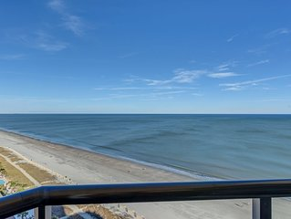 Enticing Ocean View Condo located downtown on the blvd.