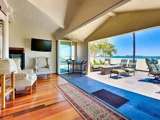 15% OFF MAR!Custom Luxury in Belmont Shores,3 Decks w/ Incredible Ocean Views