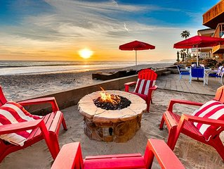 20% OFF JULY  - Beautiful Beachfront Cottage, Views + Private Jacuzzi
