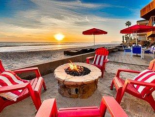 25% OFF THRU DEC - Beautiful Beachfront Cottage, Views + Private Jacuzzi
