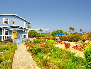20% OFF JULY - Ocean View Wraparound Deck w/ Garden, Walk to Beach, Pet's OK