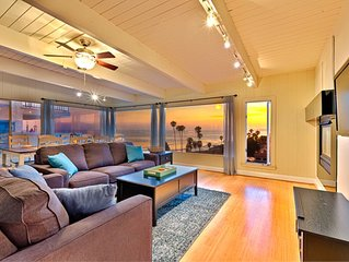 20% OFF THRU FEB - Beach Home w/ Endless Ocean Views, Walk to Sand + More