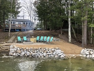 3 Bedroom Lakefront Cottage - Completely Remodeled, 60 feet of frontage
