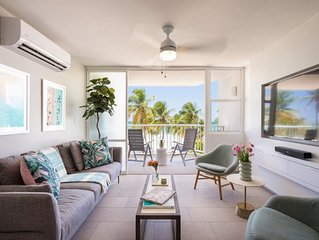 New on the market! Beachfront Just Remodeled 2 Bed 2 Bath. Right on the beach!
