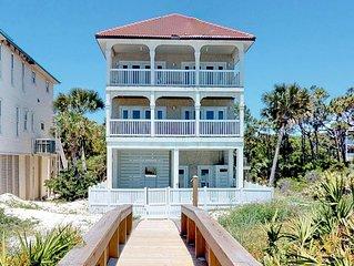 FREE BEACH GEAR! Beachfront, Plantation, Pool, Private Boardwalk, 5BR/5.5BA  'Br