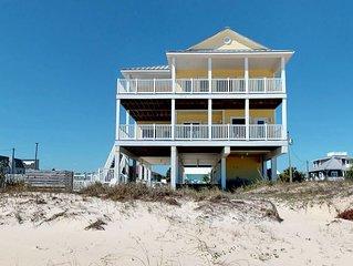 FREE BEACH GEAR! Beach Front, Pool, Elevator, Private Boardwalk, Wi-Fi, 5BR/5.5B