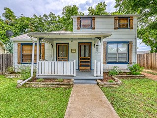 Dog-friendly home w/ classic accents & outdoor firepit - 3 blocks to Main Street