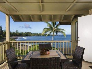 Hana Kai Maui - Oceanfront 'Nanu'alele' (Unit #4) Upper Corner 100' Off Water