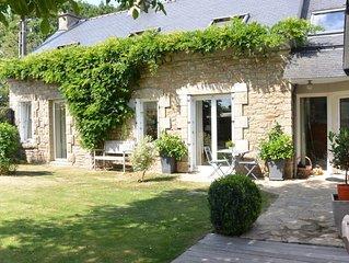 Au coeur du Golfe du Morbihan : maison authentique, confort exceptionnel