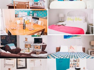 Outfit M Beach Bungalow Mel. Cswy. SUPER CLEAN- TOTAL REMODEL- WORK/STAY/VAY-CAY