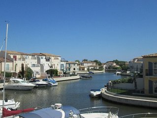 Luxury Marina Property - Pool, Roof terrace, Mooring option, Wifi, AC
