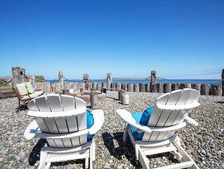 Incredible views of Strait of Juan de Fuca