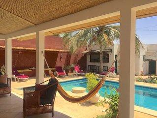 Magnifique Villa Homere Mer et lagune/ piscine privee