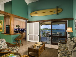 Hana Kai Maui - Oceanview 'honokalani' (unit #201) Upper Corner -Panoramic View!