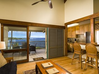 Hana Kai Maui -Oceanview'Lankakila'Unit#203 Upper Floor-Stunning View,Warm Decor