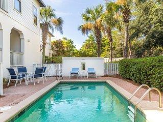 Gulf Views! Steps to the Beach! Private Heated Pool! Complimentary Beach Set!