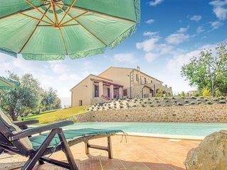 6 Zimmer Unterkunft in Castel del Piano GR