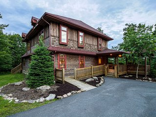 The upscale rustic ambiance makes it easy to make magical mountain memories at