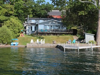 Newly Renovated!  Lakeaholic Living On Canandaigua Lake