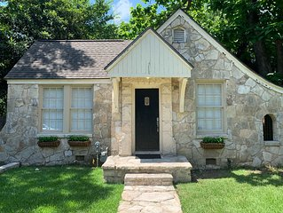 Cheery Stone Cottage at UT and Downtown with Outdoor Living Spaces
