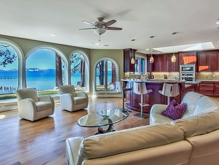 Edge' Luxurious Lakefront Home with 7000 sf 6 BR, Pool Table