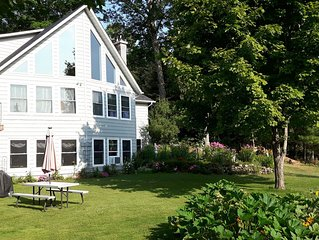 Beautiful waterfront 2 bedroom vacation rental on Nogies Creek near Bobcaygeon.