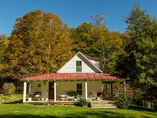 White Fence Farm on 105 stunning acres - quiet, rustic, cozy and fun!
