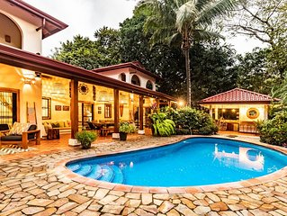 Tropical Surfside Newly Renovated Villa in Playa Guiones, Nosara